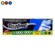 chicles topline seven freezer mentol precios