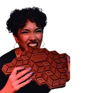 Chocolate con maní blockazo de 1 kilogramo